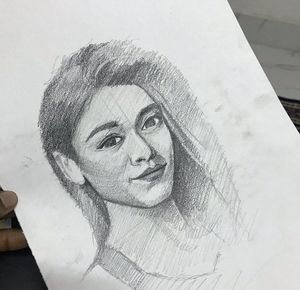 Pencil sketch by Amirsheikh