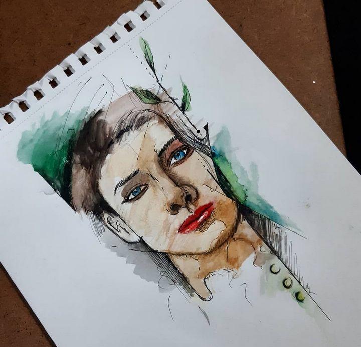 Amazing painting by Amirsheikh - Pencil Art by Amirsheikh