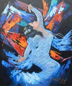 Myanmar Dancer
