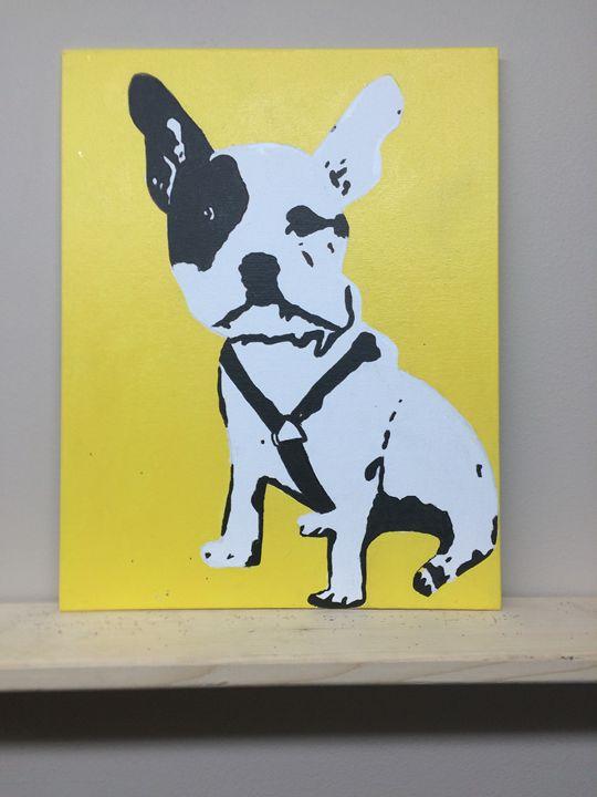 Puppy Dog - Colorful Rebecca