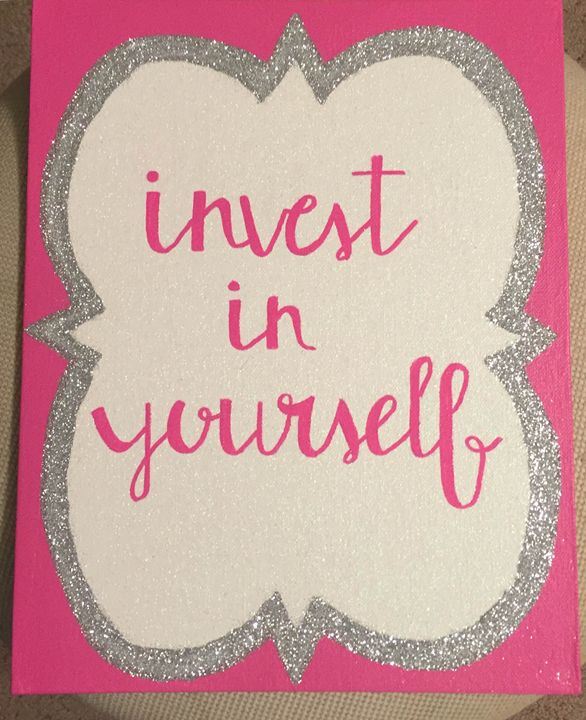 Invest in Yourself - Colorful Rebecca