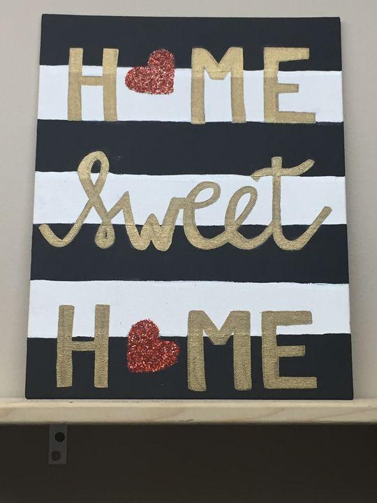Home Sweet Home - Colorful Rebecca