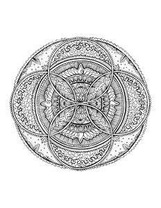 Hand Drawn Art Mandala 1