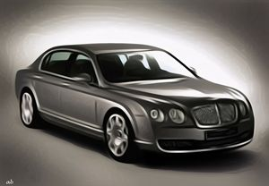 Bentley Flying Spur - Amitabh's Arts