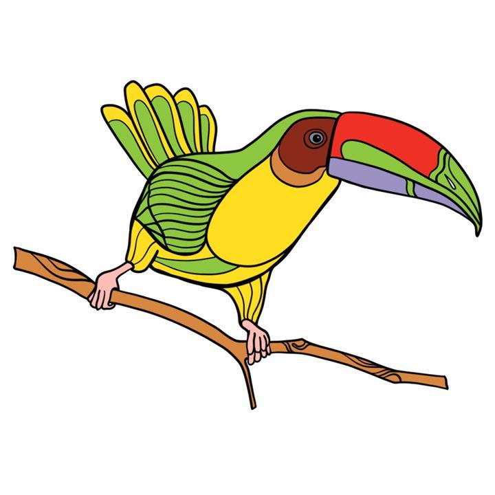 Parrot - Amitabh's Arts