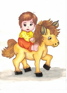 Baby Horse Ride