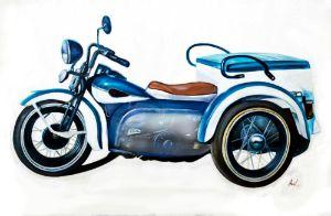 Retro Harley Navy Trike 1947