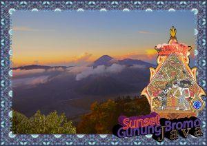 """Sunset Gunung Bromo, Java"""