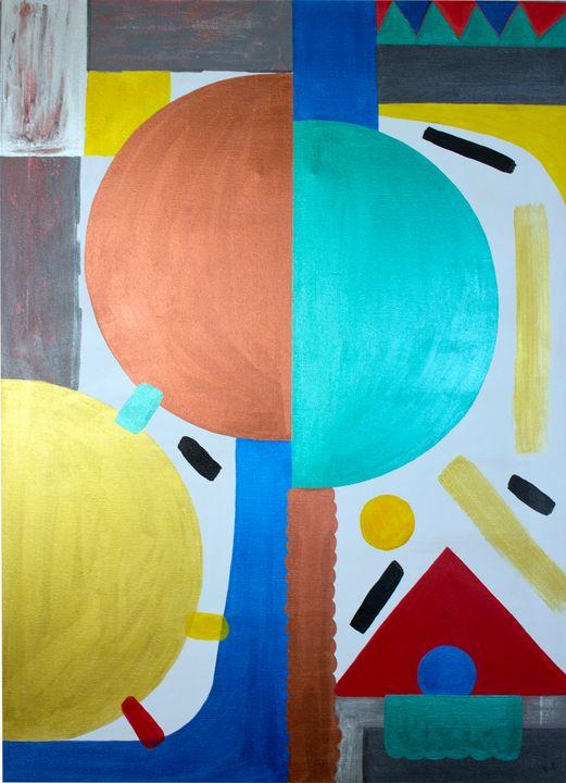 Abstract circus - Ikovleva art