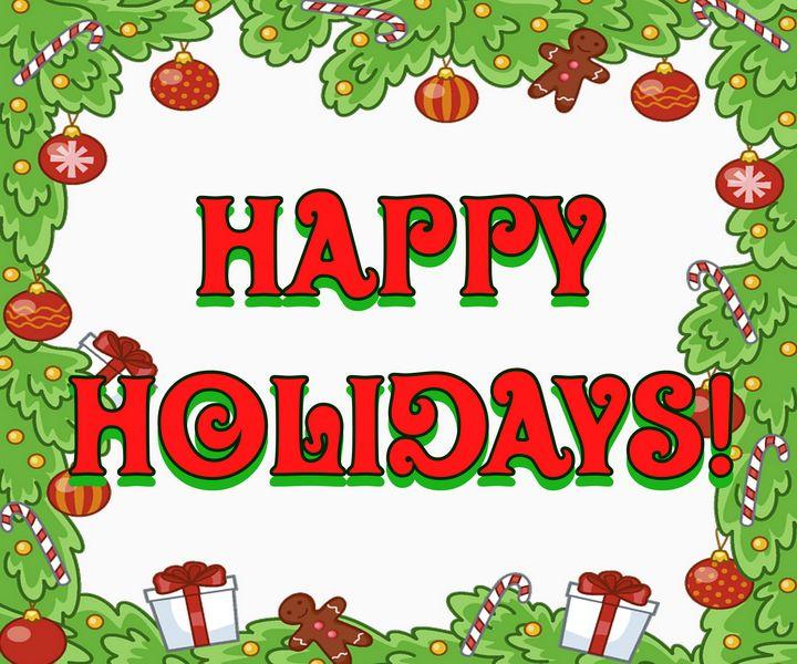 Happy Holidays - SPLAT!