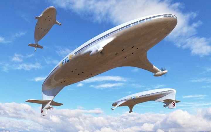 Skyships - Mario Merino