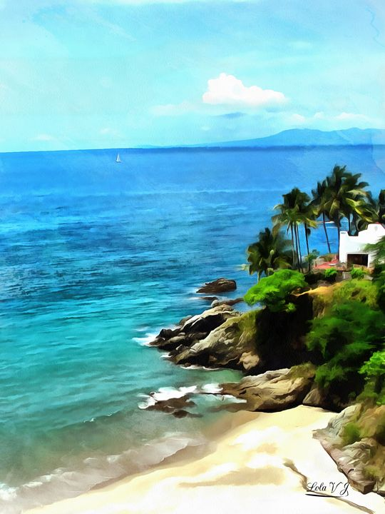 Beach Dream - Your Treasures by Lola
