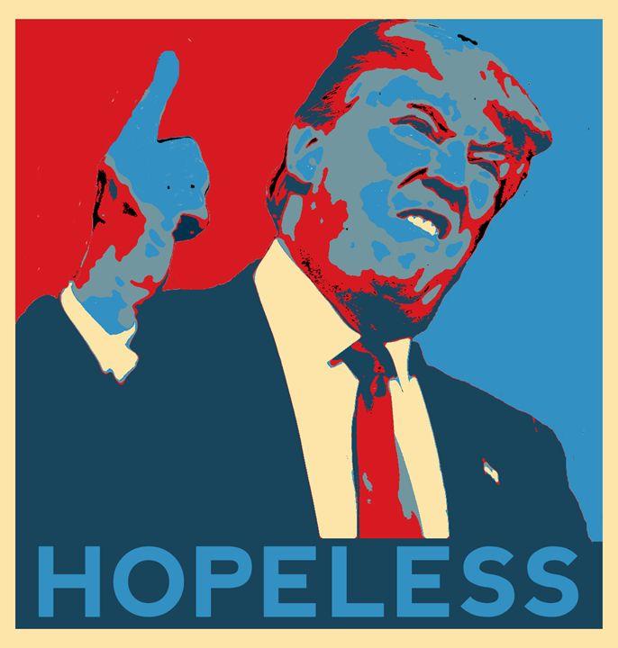 Trump Hopeless - Peter Rowe