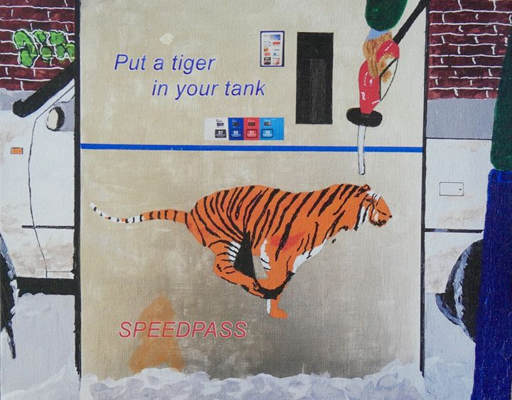 A Tiger in Your Tank - Peter Rowe