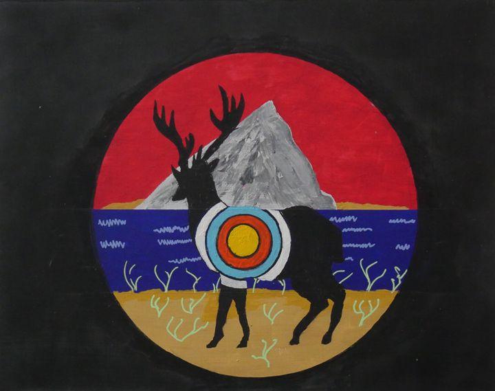 Hunting Game - Peter Rowe