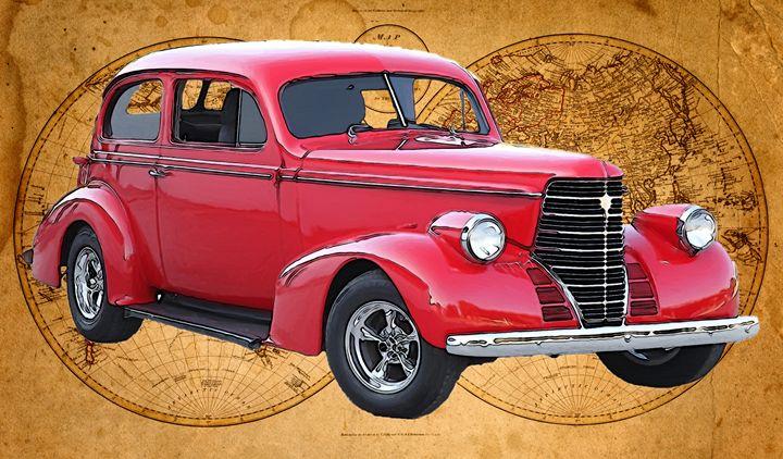 1938 Oldsmobile Touring Sedan - Ed Mace