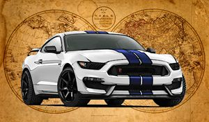 Ford Mustang Shelby GT 350 R - Ed Mace