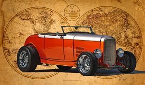 1932 Ford Hi-Boy Roadste - Ed Mace