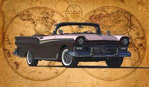 1957 Ford Fairlane 500 Sunliner - Ed Mace
