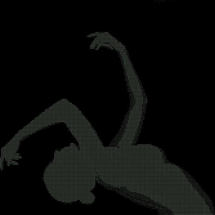 Matrix: Reaching Woman Figure - Nostalgic_White