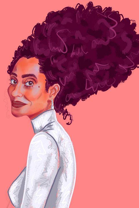 Tracee Ellis Ross - Esther Francis Artworks