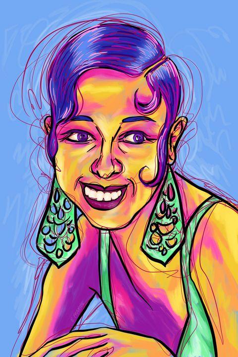 Josephine Baker - Esther Francis Artworks