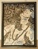 27X20 INCH, framed,original painting