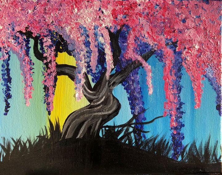 Wisteria Willow Tree (Cover Version) - MunchyAngel Art