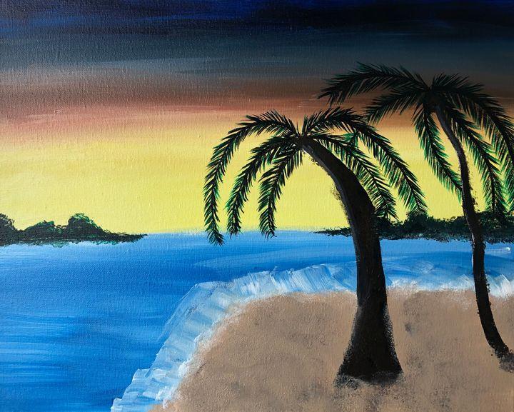 Tropical paradise - MunchyAngel Art