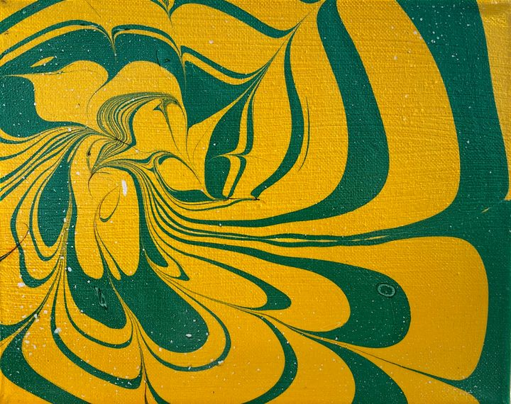 Distressed Abstract Watermarble - MunchyAngel Art