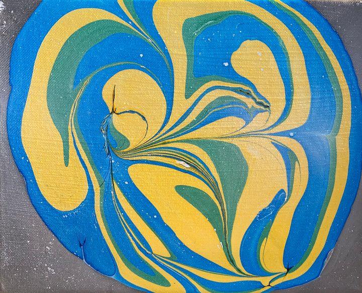 Abstract Watermarble - MunchyAngel Art