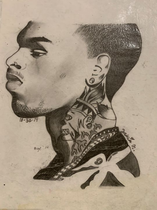 Second attempt of Chris Brown - My History Of Art