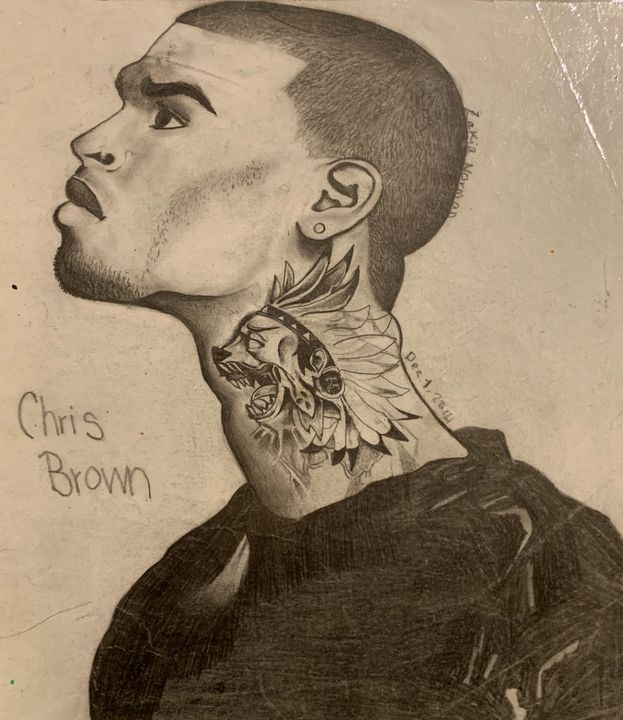 Third attempt of Chris Brown - My History Of Art