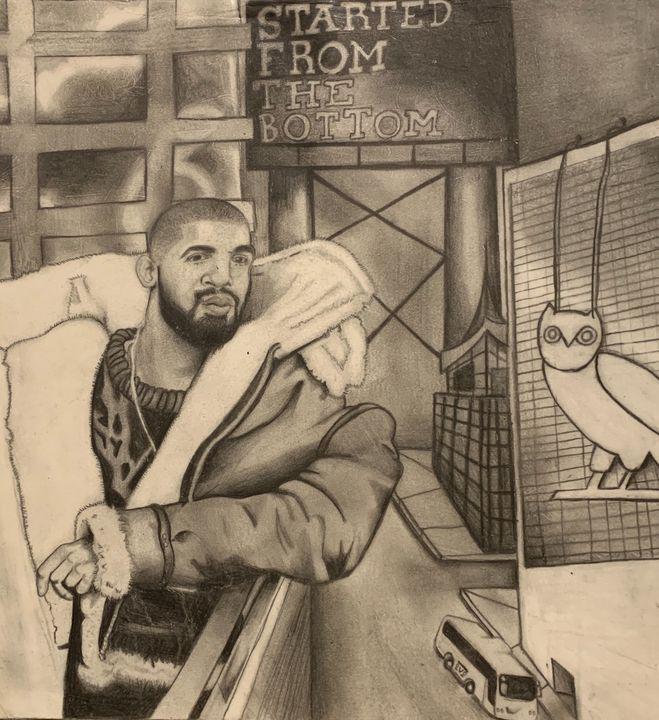 Portrait of Drake - My History Of Art