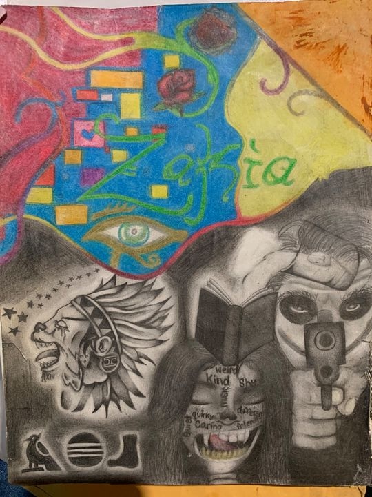 The two sides of me - My History Of Art