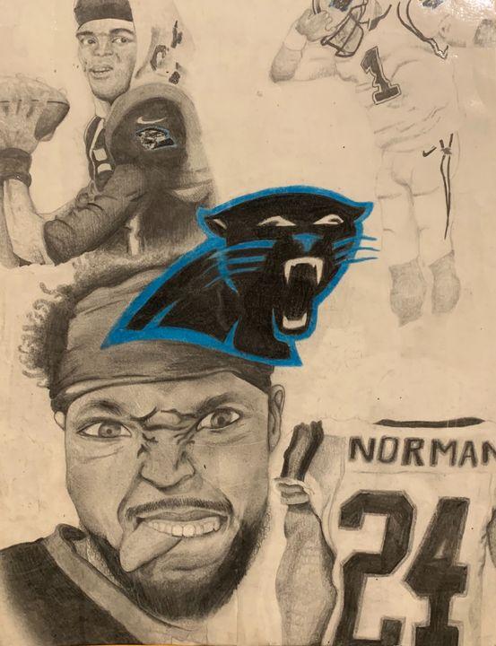 Carolina Panthers - My History Of Art