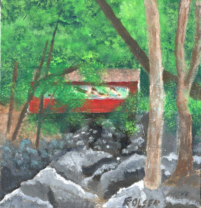 Southford Falls, Southbury, CT - Ryan Olsen's Studio