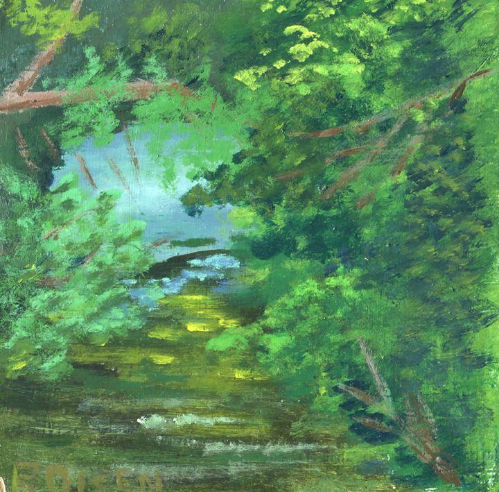 Wintergreen Lake, Hamden, CT - Ryan Olsen's Studio
