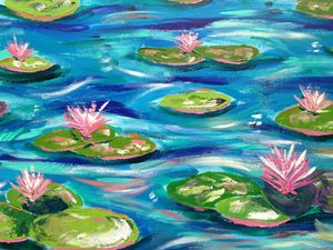 Lilly Pond Impression 2