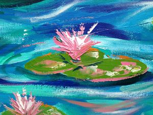 Lily Pond Impression 2
