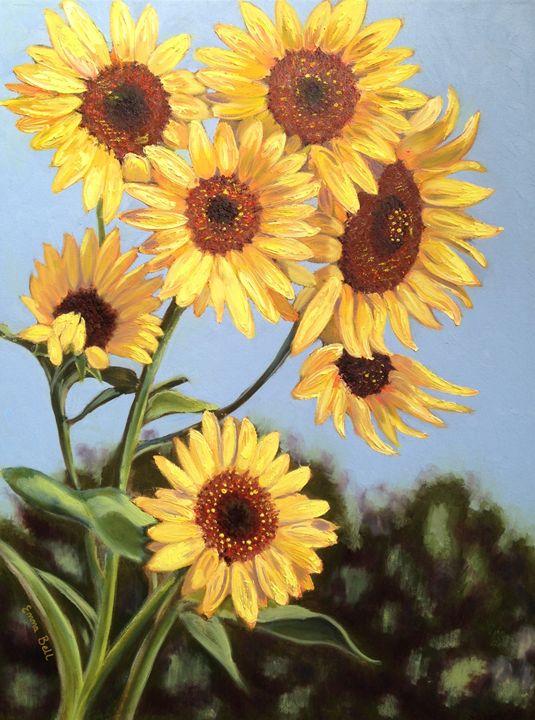 Happy Faces - Emma Bell Fine Art