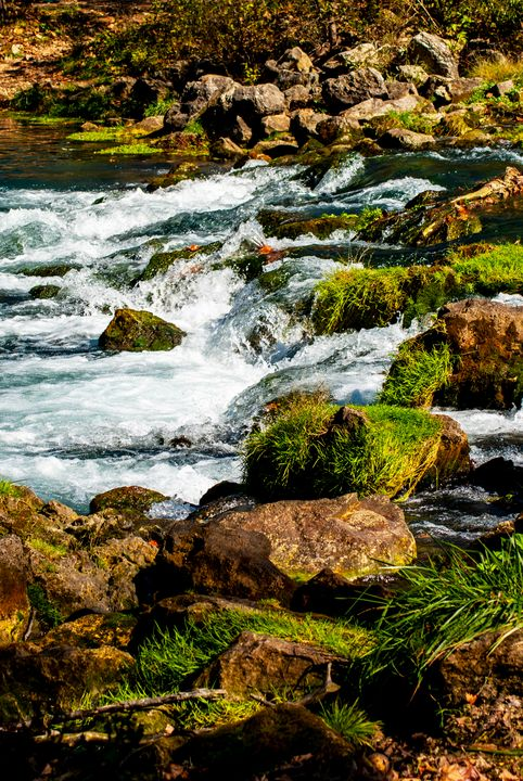 Mossy Rocks - Persinger Creations
