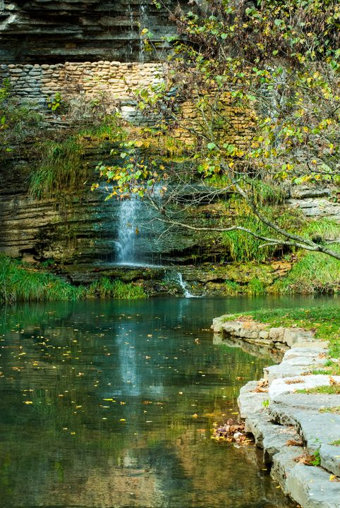 Waterfall Reflections - Persinger Creations