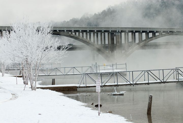 Frosted Lake Taneycomo - Persinger Creations