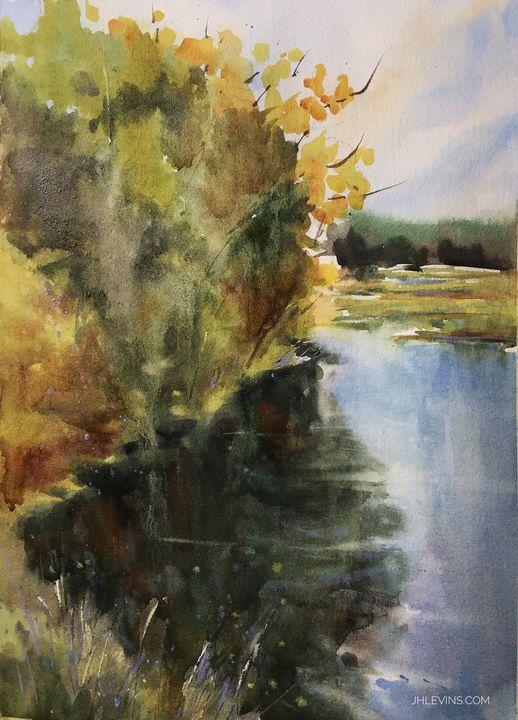 Dark Water - Art by JHLevins