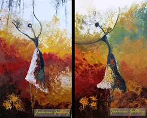 Dance in Autumn, two parts