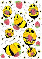 Bee Doodles