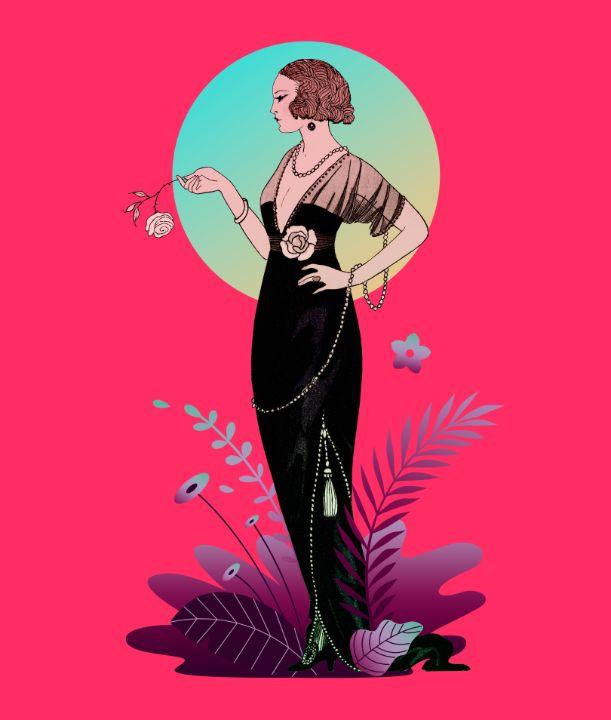 Parisian Costumes: Evening Dress - BreezyBlueFish99