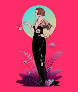 Parisian Costumes: Evening Dress