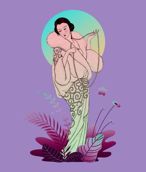 French Fashion Illustration (1913) - BreezyBlueFish99